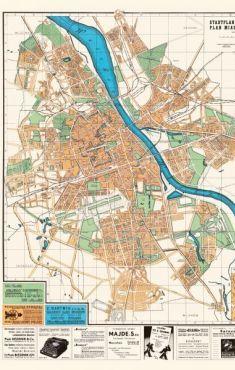 Plan M.St. Warszawy 1942 reprint (opr.zbiorowe)