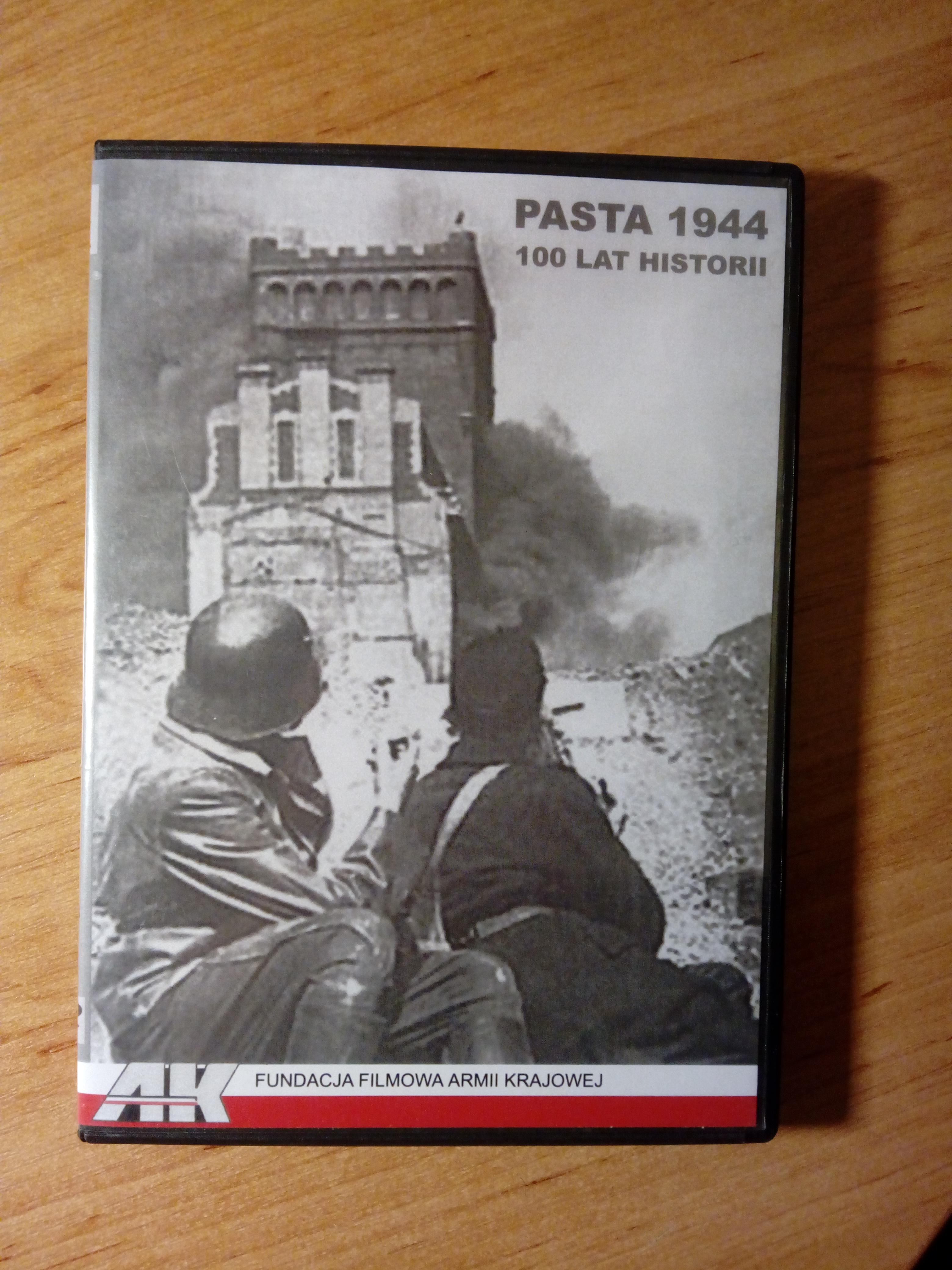 Pasta 1944 100 lat historii DVD (M.Widarski)
