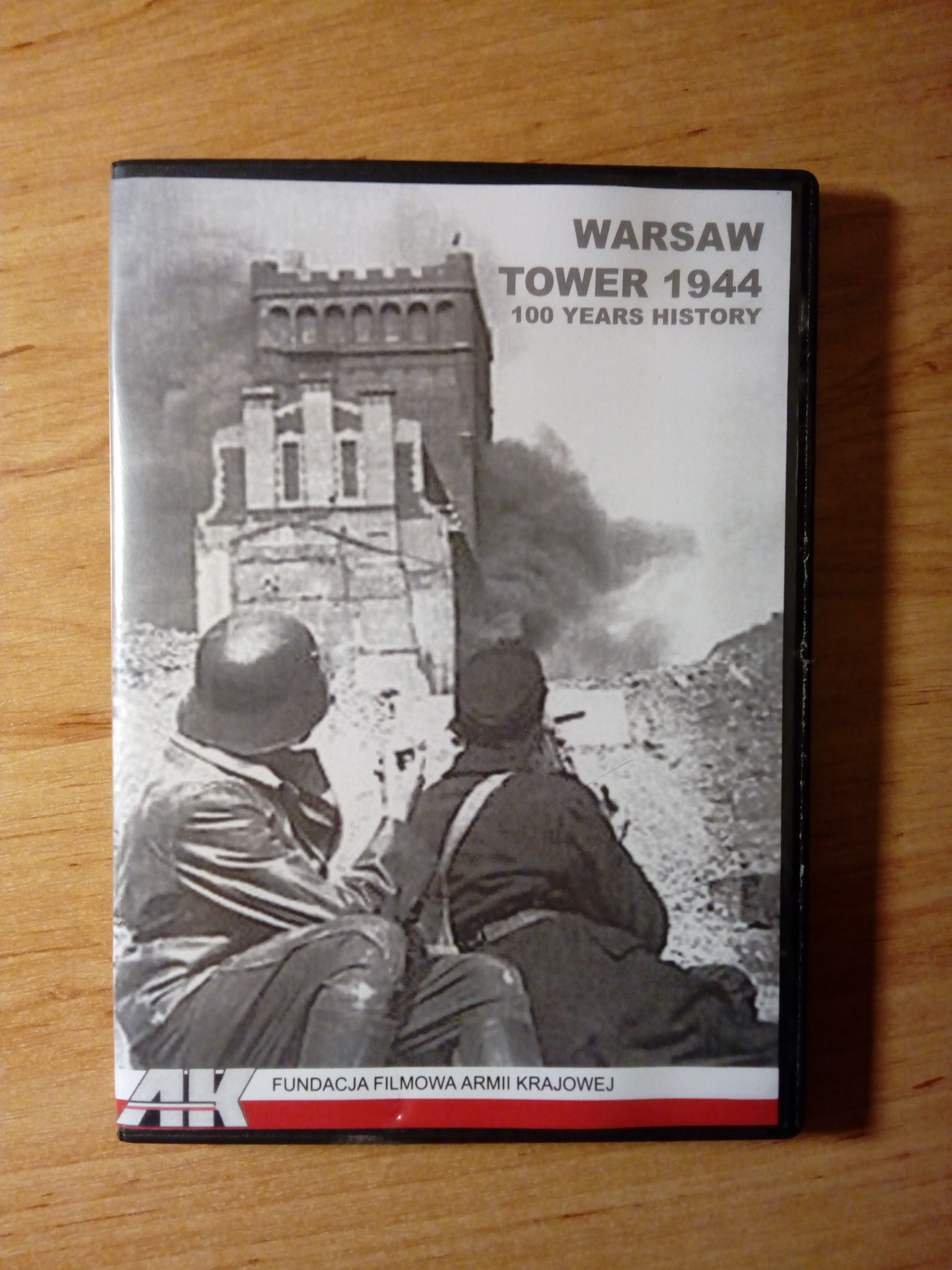 Warsaw Tower 1944 DVD 100 Years History (M.Widarski)