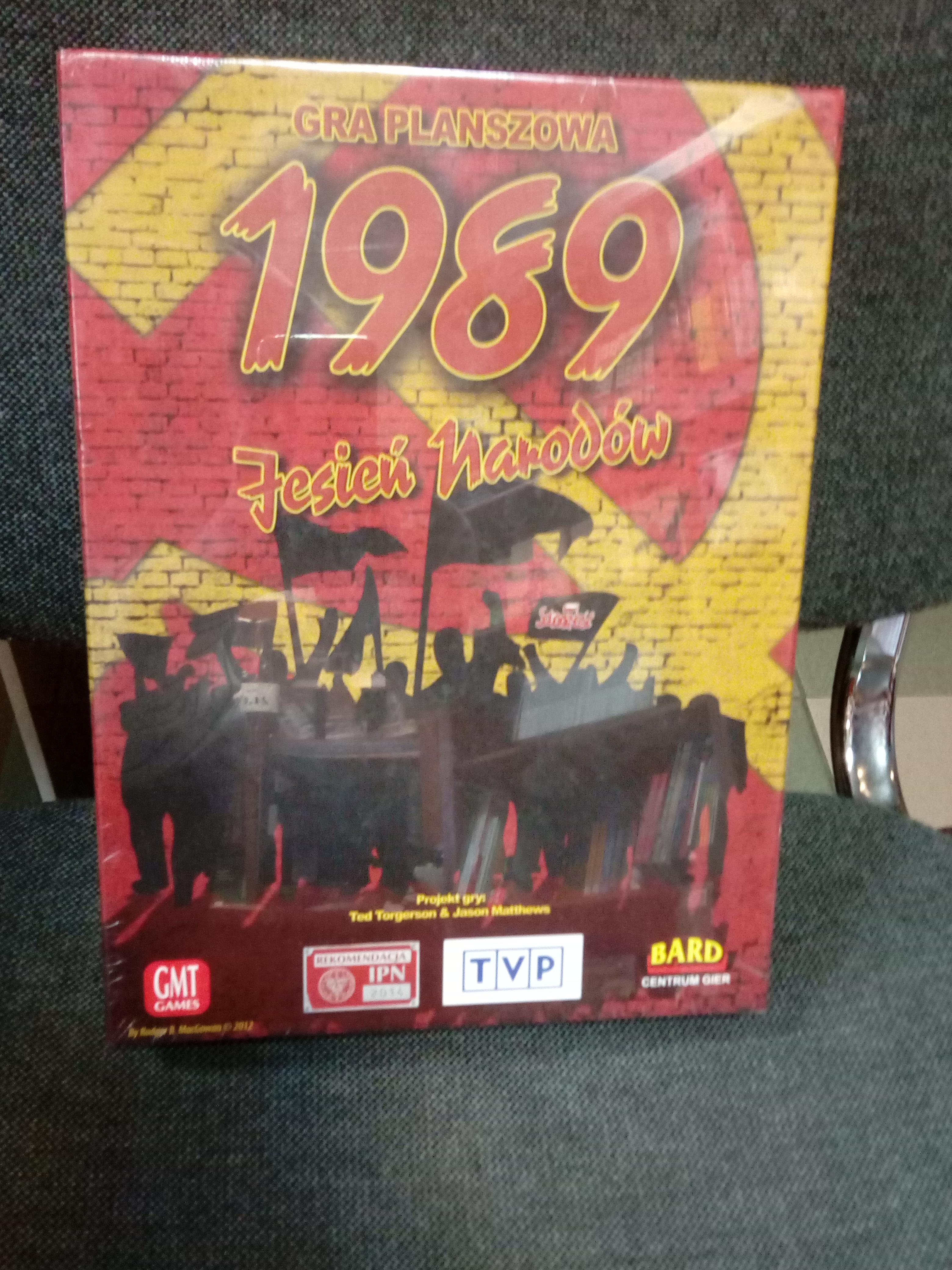 1989 Jesień Narodów Gra planszowa (T.Torgerson J.Matthews)