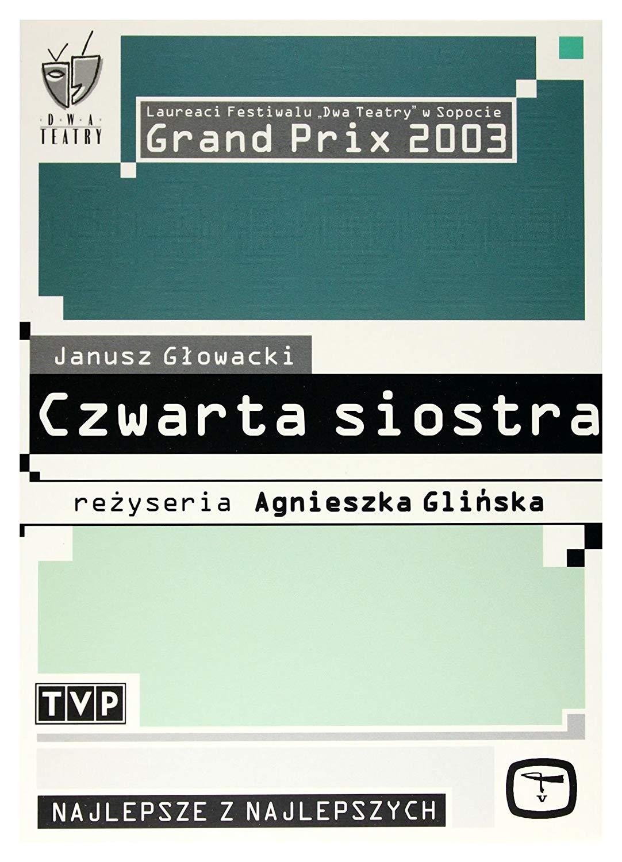 Czwarta siostra DVD (A.Glińska)