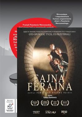 Fajna ferajna + DVD pakiet (M.Kowaleczko-Szumowska)