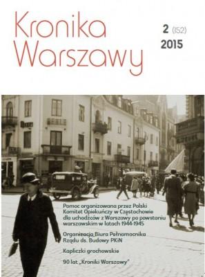 Kronika Warszawy 2/2015 (152)