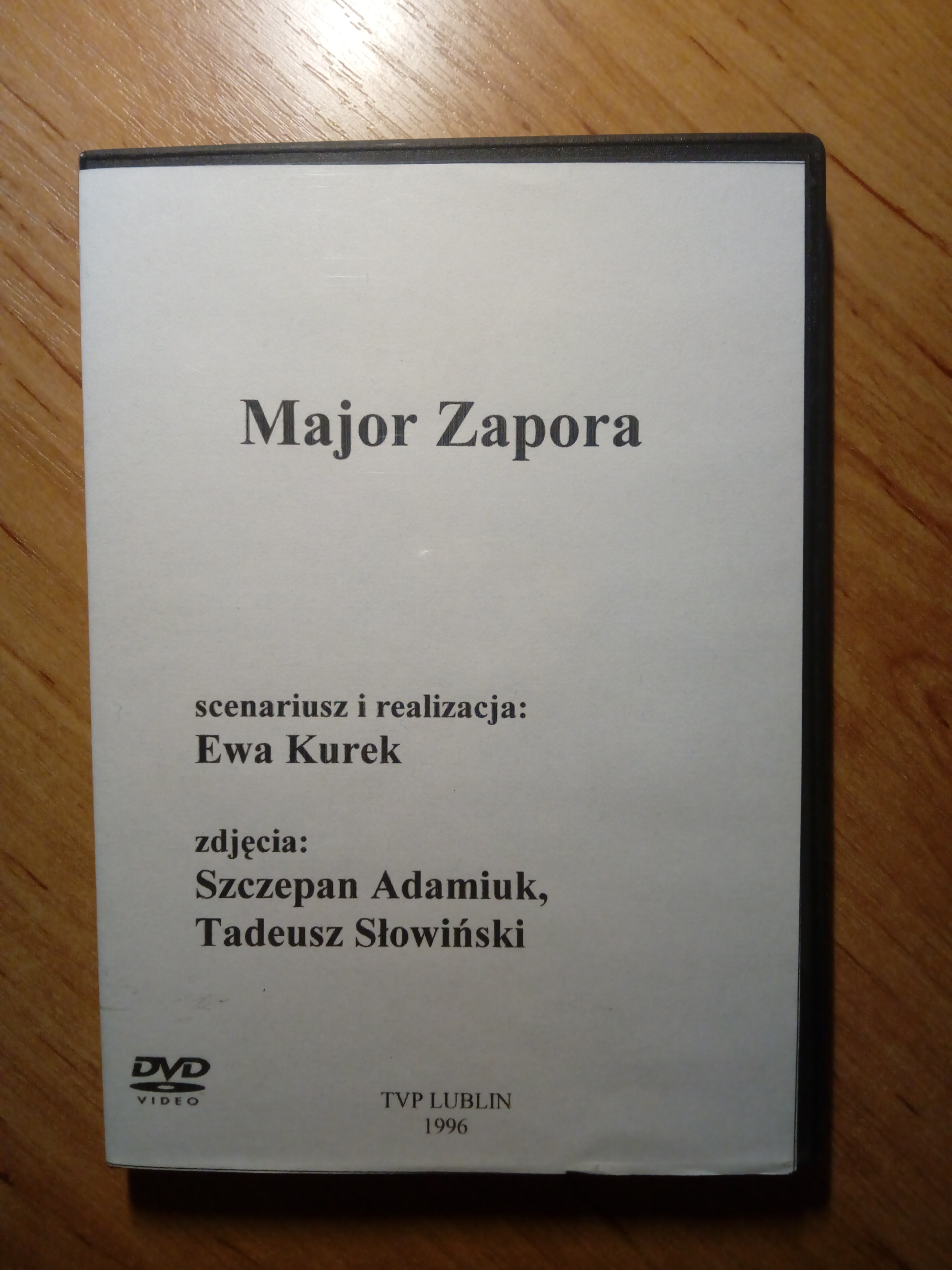 Major Zapora DVD (E.Kurek)