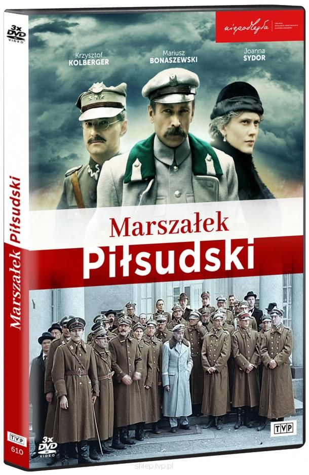 Marszałek Piłsudski serial DVDx3 (A.Trzos-Rastawiecki)