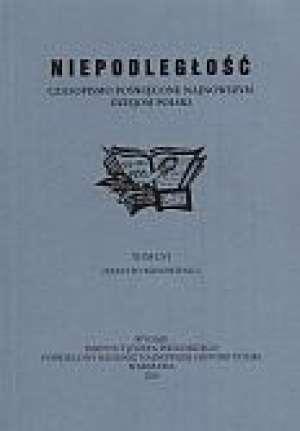 Niepodległość Czasopismo T. LIX (opr.zbiorowe)