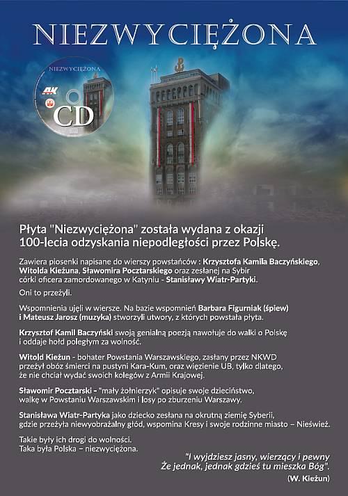 Niezwyciężona CD (Fundacja Polskiego Państwa Podziemnego)