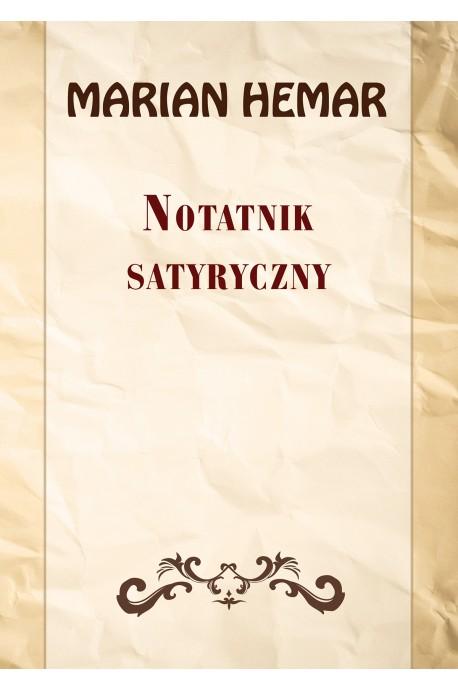 Notatnik satyryczny Wybór wierszy z 1946-1961 (M.Hemar)