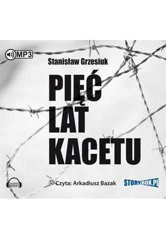 Pięć lat kacetu CD mp3 (St.Grzesiuk)