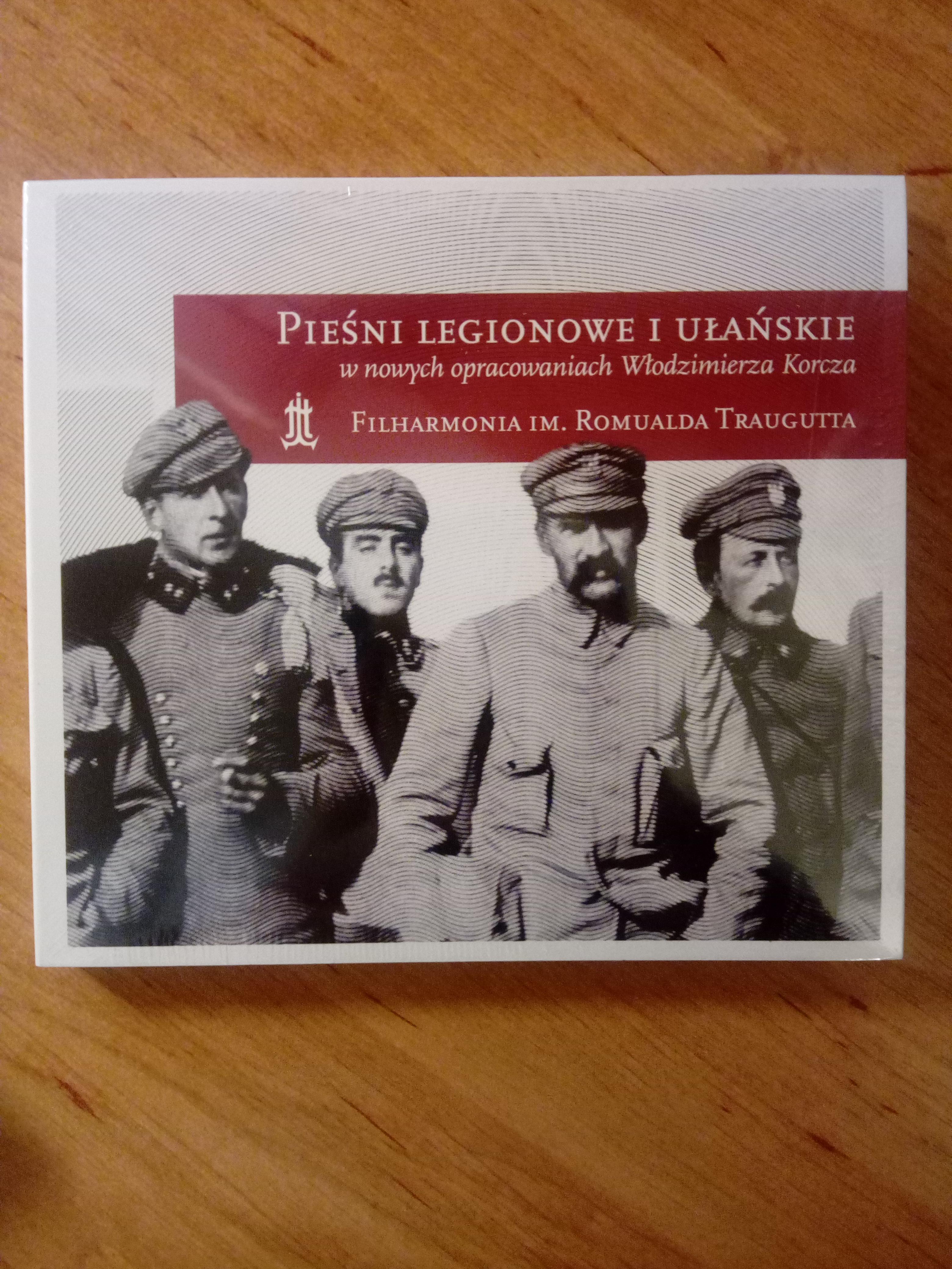 Pieśni legionowe i ułańskie CD (opr.W.Korcz)