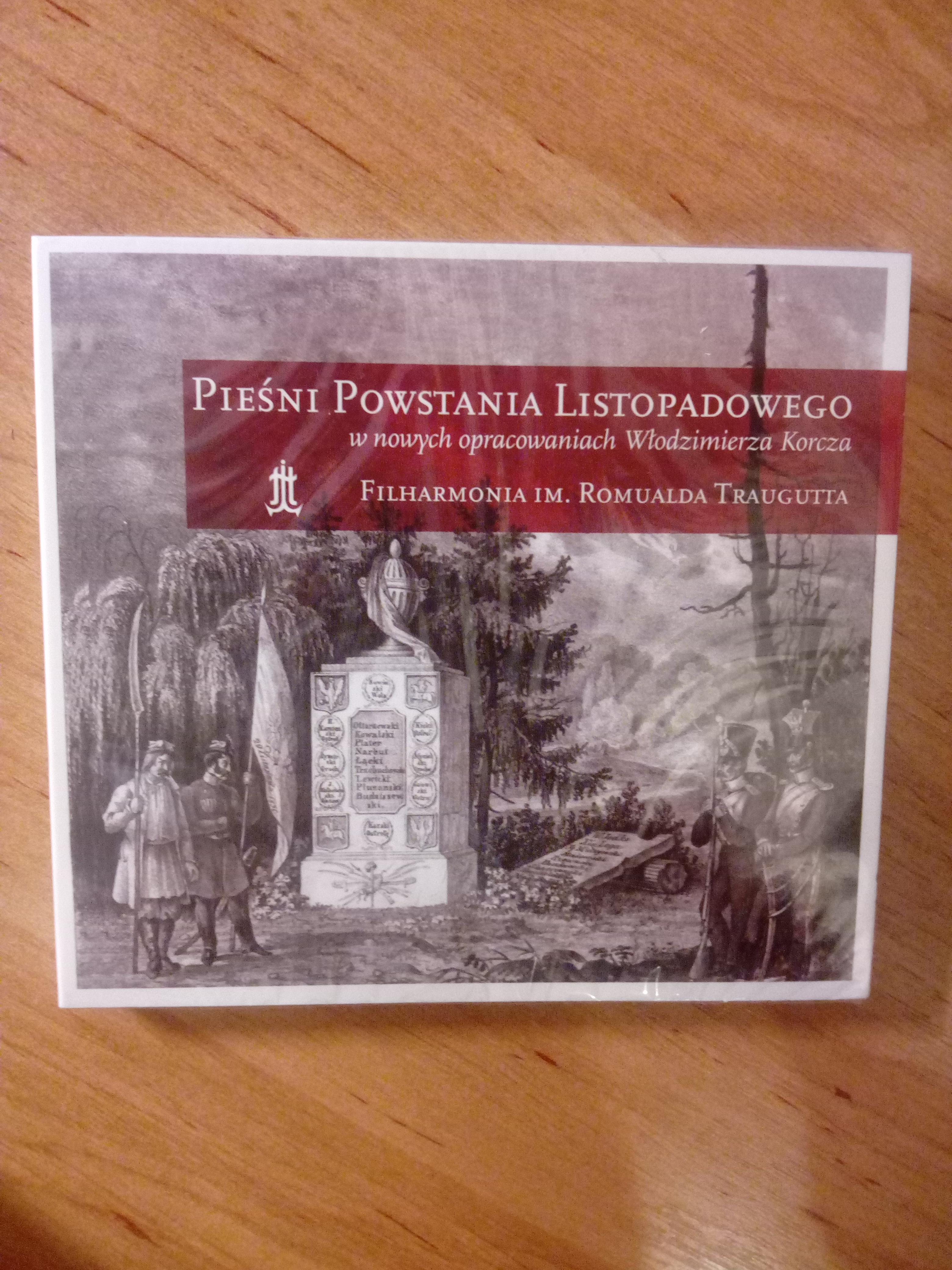 Pieśni Powstania Listopadowego CD (opr.W.Korcz)