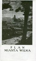 Plan miasta Wilna 1937 reprint (opr. zbiorowe)