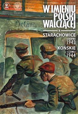 Starachowice 6 sierpnia 1943 / Końskie 5 czerwca 1944 komiks (S.Zajączkowski K.Wyrzykowski)