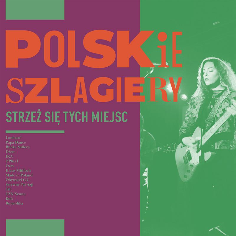 Polskie Szlagiery Strzeż się tych miejsc CD (MTJ)
