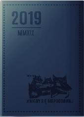 2019 kalendarz ksiązkowy granatowy (opr. zbiorowe)